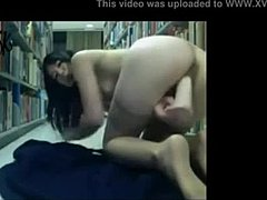 Livecam youngster Masturbates in Library