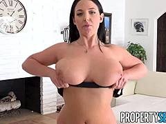 Propertysex - full-bosomed real estate agent angela white hungry for stick