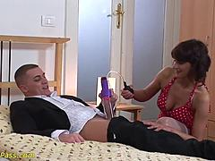 Freaky mama pumped and unfathomable anal used